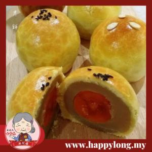 湘阿嫲手工单黄莲蓉上海月饼